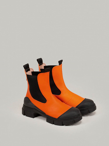 Recycled Rubber Boot Flame