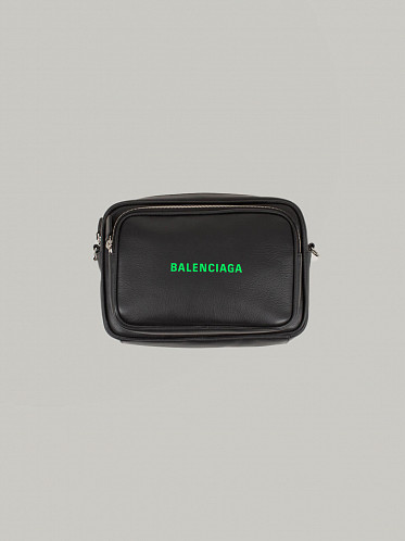Everyday Multi Bag black fluo green