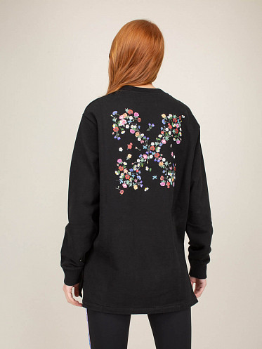 Embroidered Arrow Flowers Dress
