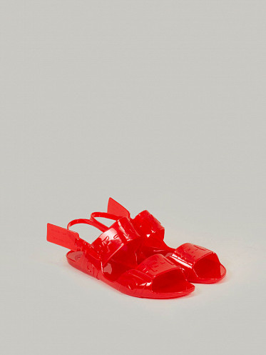 Jelly Sandal red no color