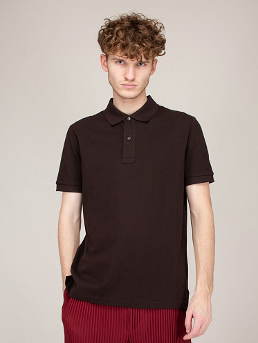 T-Shirt Polo New Dry brown