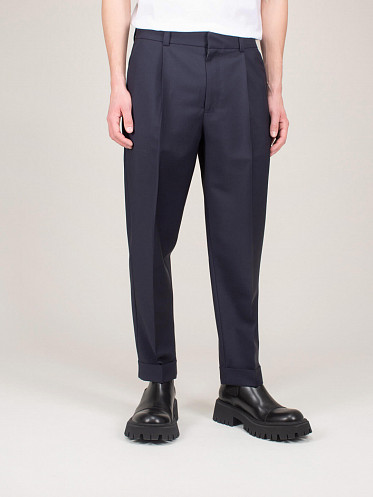 Trousers Pockets navy
