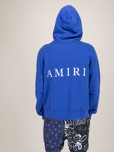 MA Fitted Hoodie blue