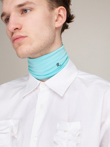 Unisex Separate Turtleneck blue