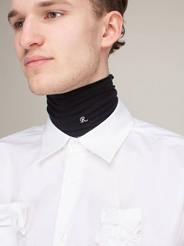 Unisex Separate Turtleneck black