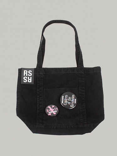 Denim Tote Bag black