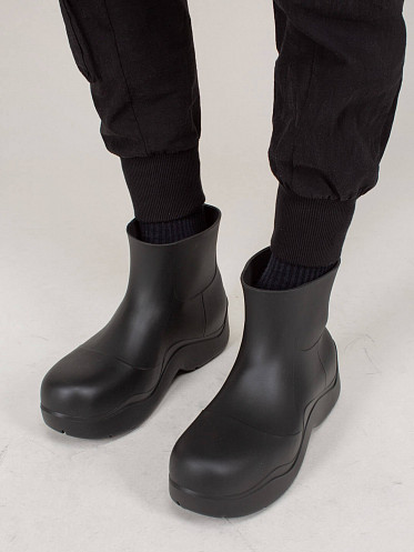 The Puddle Rubber Boot black