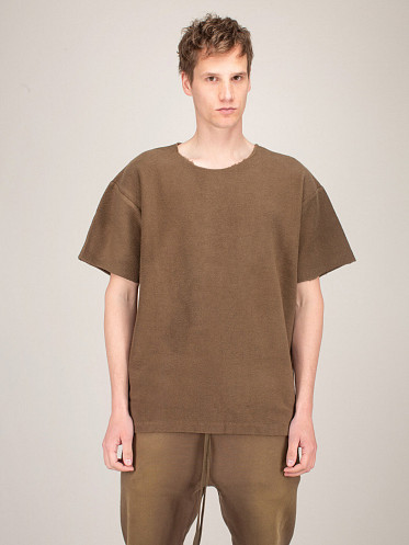 Inside Out Terry Tee mocha