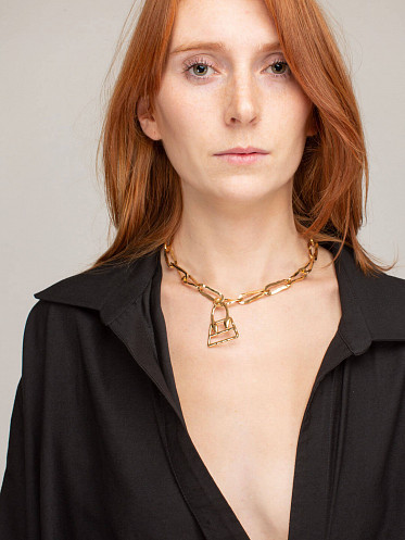 Le Collier Chiquita Raw gold