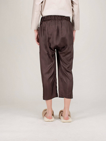 Punch Silk Pants cacao