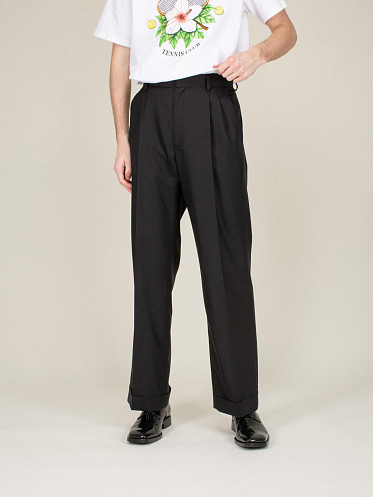 Rio Pleated Trousers black