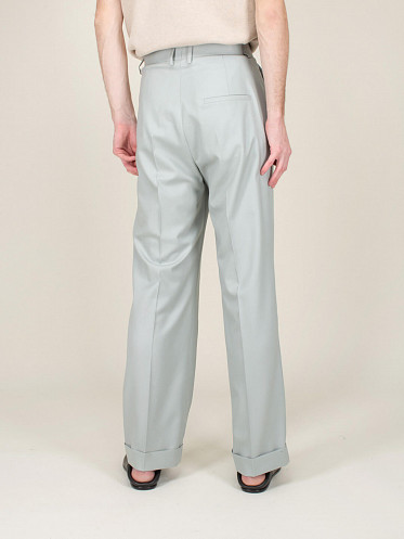 Rio Pleated Trousers blue