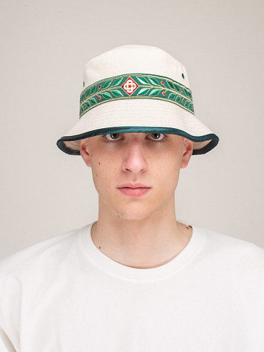 Laurel Panel Bucket Hat natural