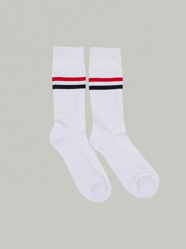 Athletic Mid Calf Socks white
