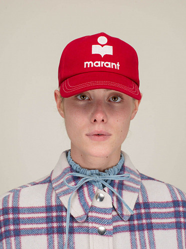 Casquette Tyron Marant red