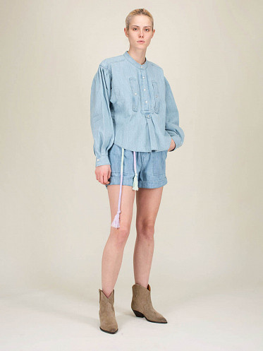 Chemise Madoc light blue