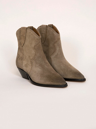 Washed Iconic Dewina Boots taupe