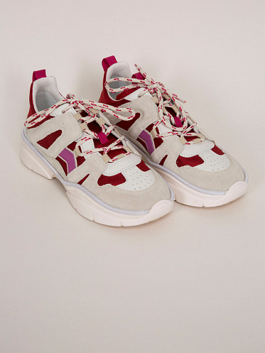 Kindsay Story Sneakers red pink