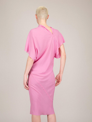 Seb Dress pop pink