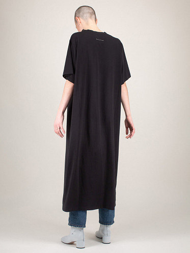 Basic Jersey Dress black