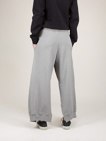 Unbrushed Basic Sweat Pant grey