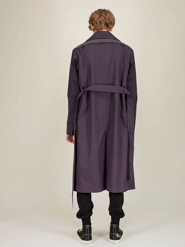 Performa Trench plum