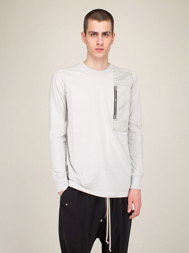 Pocket Level Longsleeve Tee oyster