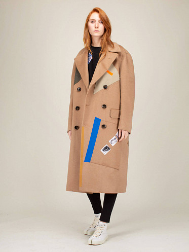 Double Faced Sterling Ruby Coat