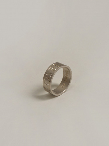 Silver Ring Closer Engraved