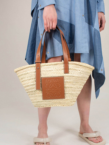 Basket Bag natural tan