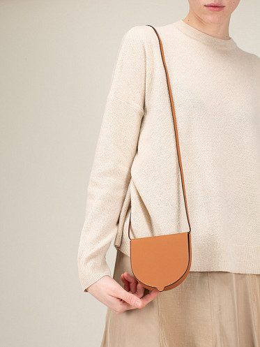 Heel Pouch Small brown