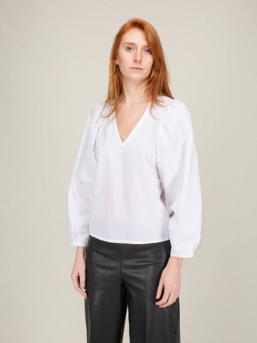Diosmara Shirt pure white