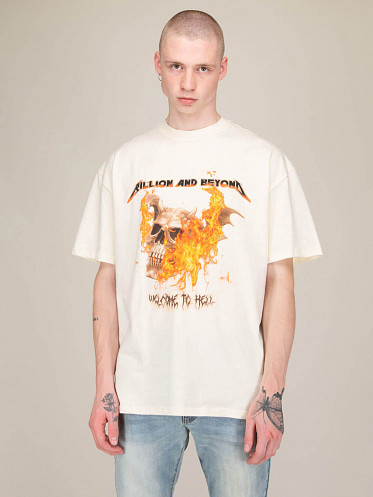 Welcome To Hell Tee cream