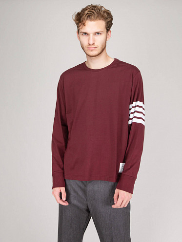 Oversized Tee Weight Jersey red