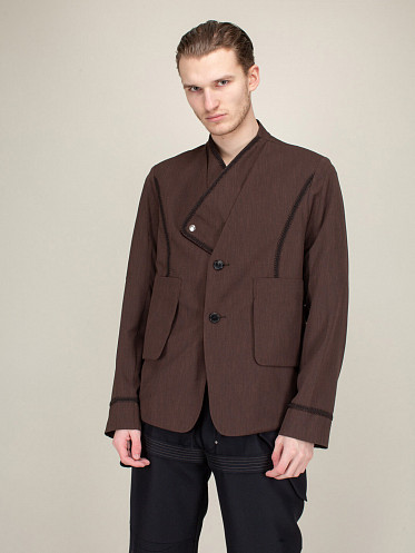 Arcadia Tailored Blazer seal brown