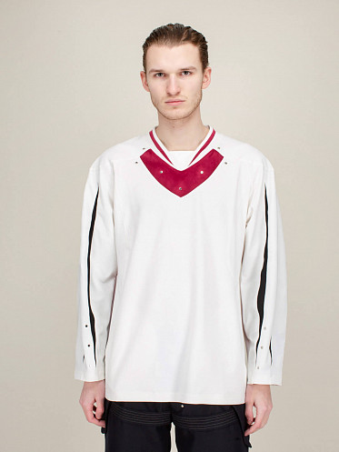 Norman Armour Top bright white malva
