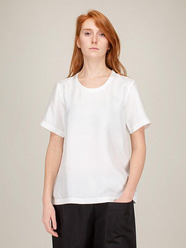 Wide T Shape Top off white