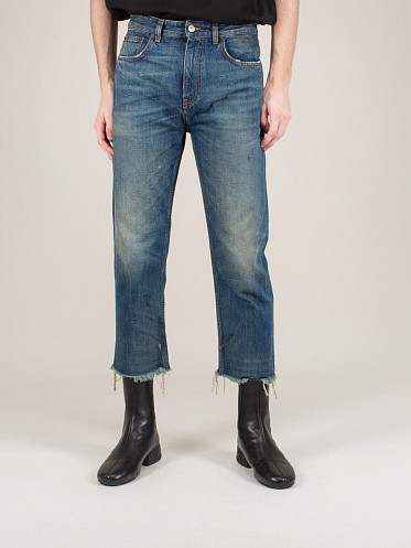 Raw Cut Slim Jeans