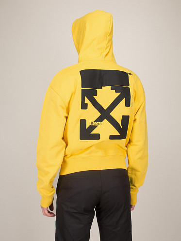 Tech Marker Over Hoodie yellow