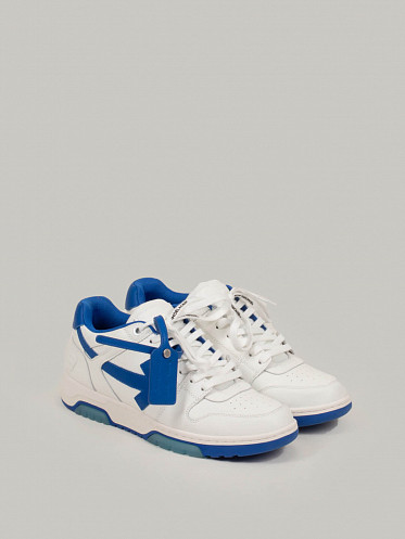 Out Of Office Calf Leather white blue