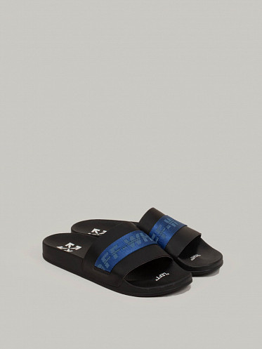 Industrial Belt Slides black blue