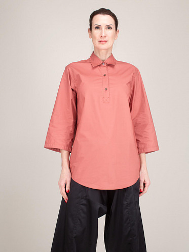 Polo Style Shirt terracotta