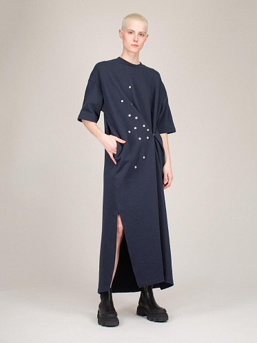 PEAK Dress navy