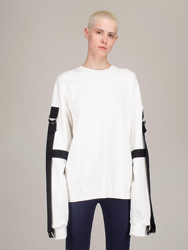 HOOK Top off white