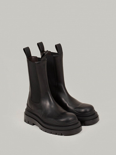 Tire Boot Military Calf black