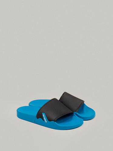 Astra Sandals black blue