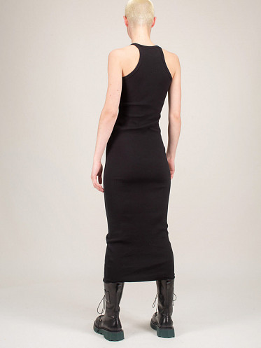 Basic Ribbed Dress black