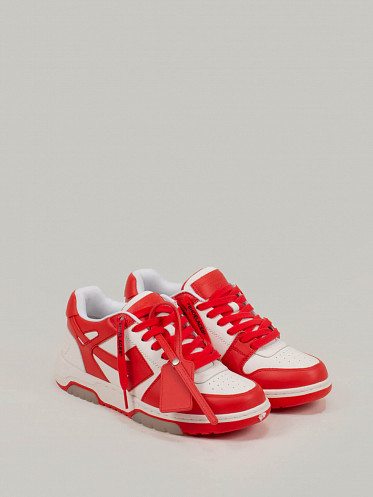 Out Of Office Sneaker white red