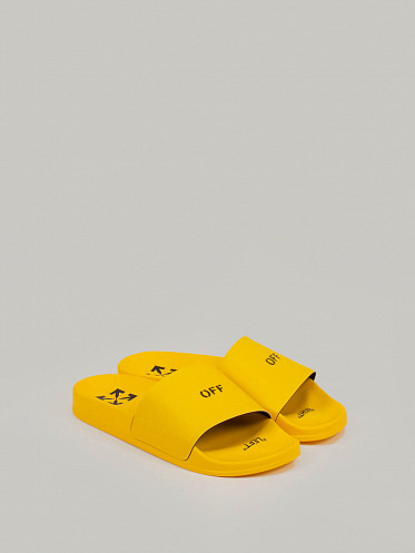 Pool Sliders yellow
