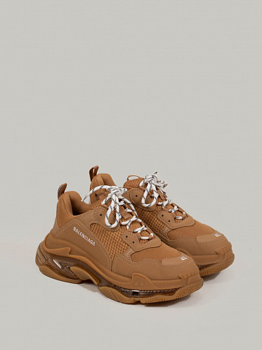 Triple S Clear Sole camel